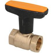 """Heimeier Solar ball valve Globo S 3/4"""" gunmetal"""