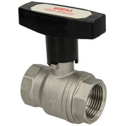 """Stainless steel ball valve with T-handle 1"""" IT"""