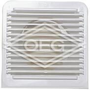 Ventilation grille LGK100, Clivent
