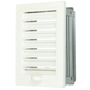 Upmann ventilation grille adjustable with installation frame 100 x 160 mm