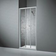 Sliding shower door Koralle TwiggyTop 75 DSTT 3, acrylic glass V411907518A21