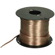 Loudspeaker cable XYFAZ-F transparent 2 x 2.5mm², 100 m