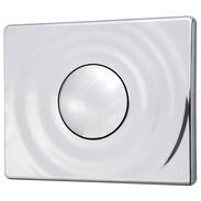 Flush plate Surf chrome