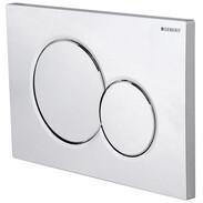 Actuator plate for dual flush Sigma01 high gloss chromed