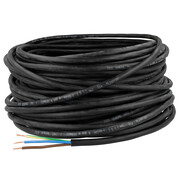 Light rubber-sheathed cable 3G x 1,5 mm²  H05RR-F