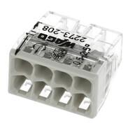 Wago Presa a serrafilo COMPACT serie 2273 per 8 conduttori 0,5 - 2,5 mm² 2273208