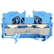 2-conductor feed-through terminal 10 mm²