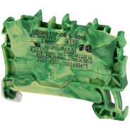 2-conductor feed-through terminal 2.5 mm² TOPJOB®S-series 2002