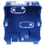 Kleinhuis built-in box KEDB80 for BU65, pre-cut slots