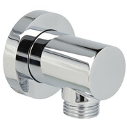 Wall connection elbow Style chrome-plated brass