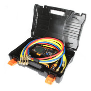 Digital manifold kit for heat pumps and refrigeration systems