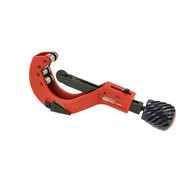 Automatic ratchet pipe cutter for plastic pipes 6 - 64 mm