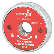 Quick-change flange Quick M14 for angle grinders