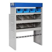 Vehicle equipment module SMALL storage box for medium-sized transporters