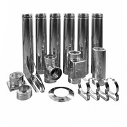 Flue system basic package double-walled Ø 130 mm for all standard furnaces