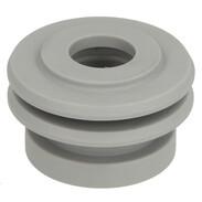 Lip seal for urinal inlet set grey