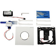 Actuator plate urinal Sigma10 IR mains high-gloss chrome-plated - white