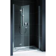 Folding-door shower for recess Koralle myDay NPFA 900 mm TSG hinged left