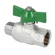 Drinking water ball valves with butterfly handle IT/ET