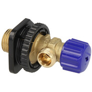 Geberit water connection with stop valve for FM cisterns, 240.269.00.1